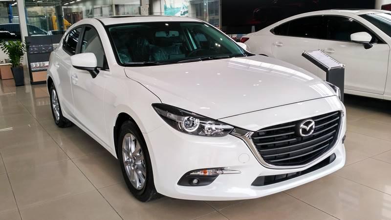 Các màu xe Mazda 3 mới nhất tại Việt Nam