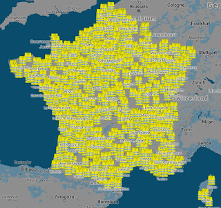 December 15, 2018 - Paris France.Speech to all the People of France, to Pdt Macron fromThree representatives of Gilets Jaunes.