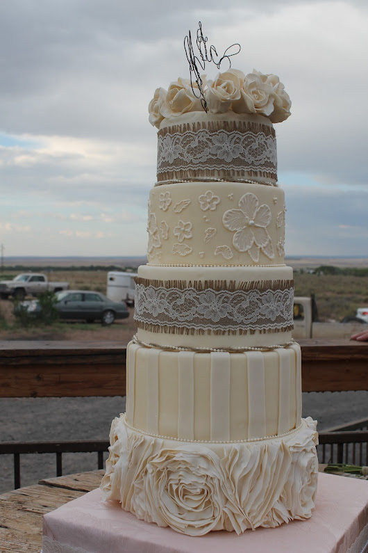 5-Tiered Wedding Cake