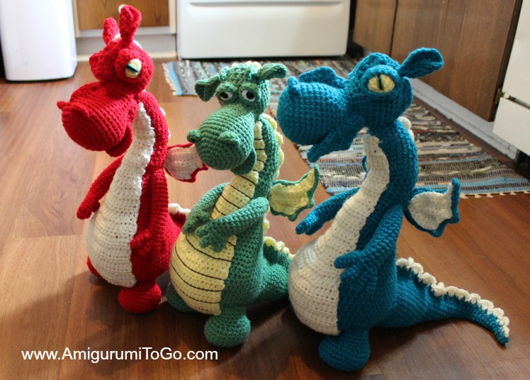 Dragons In My Kitchen Free Pattern With Video Series Amigurumi