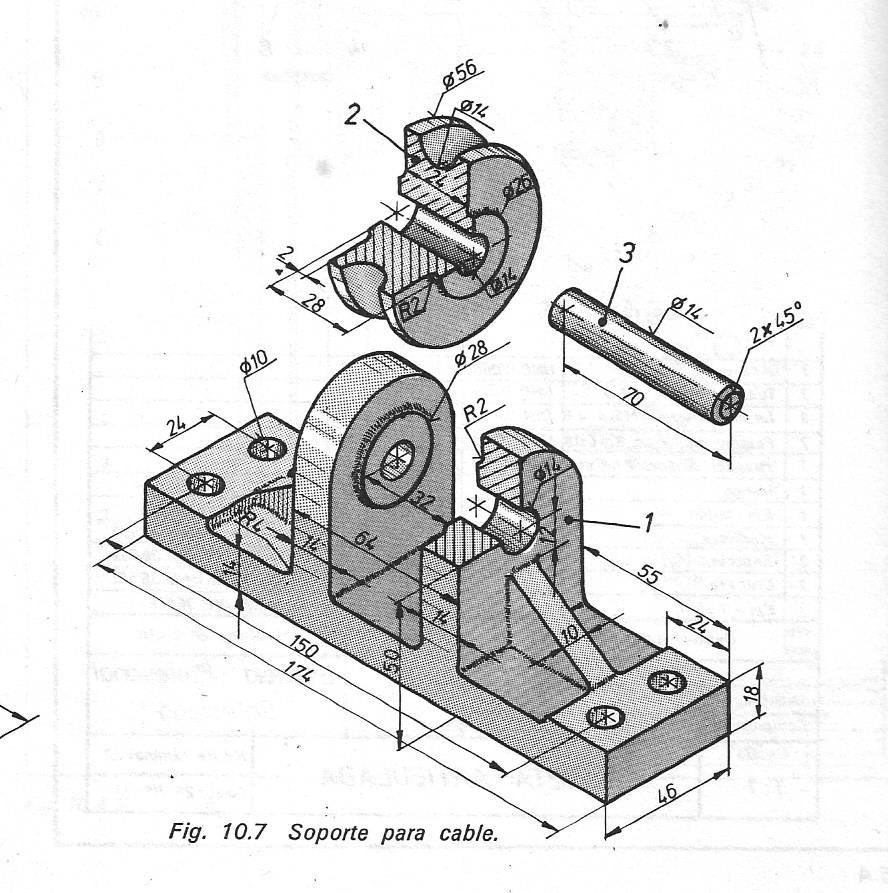 Dibujo mecanico for Plano de planta dibujo tecnico