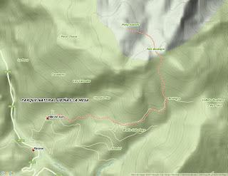 Mapa de Peña Saleras