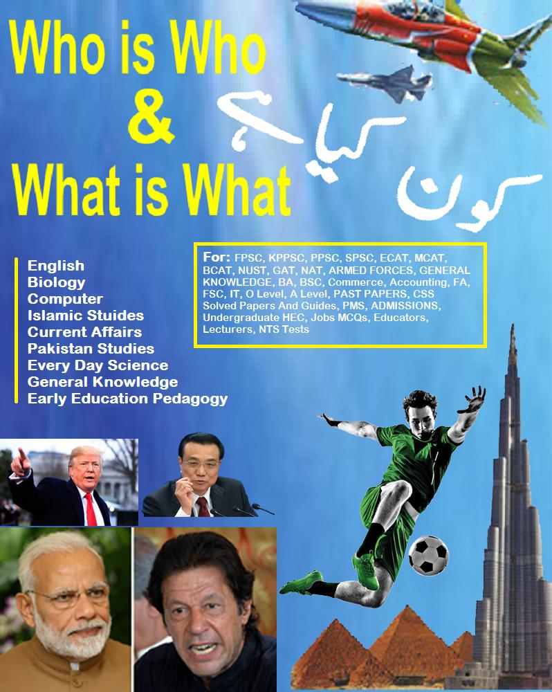 Kon Kya Hai Dogar Publishers PDF Book - Solve-MCQs