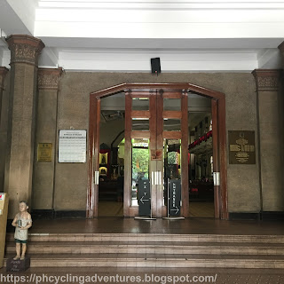 Santisimo Rosario Parish Entrance