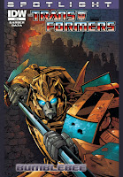 The Transformers Spotlight: Bumblebee #1 Cover