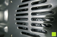 Gitter: Andrew James – 23 Liter Mini Ofen und Grill mit 2 Kochplatten in Schwarz – 2900 Watt – 2 Jahre Garantie