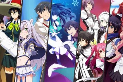 25 Anime Magic School Romance Terbaik