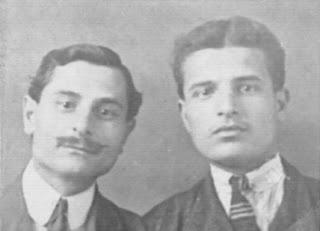 Noé and Adamo Leone in Italy