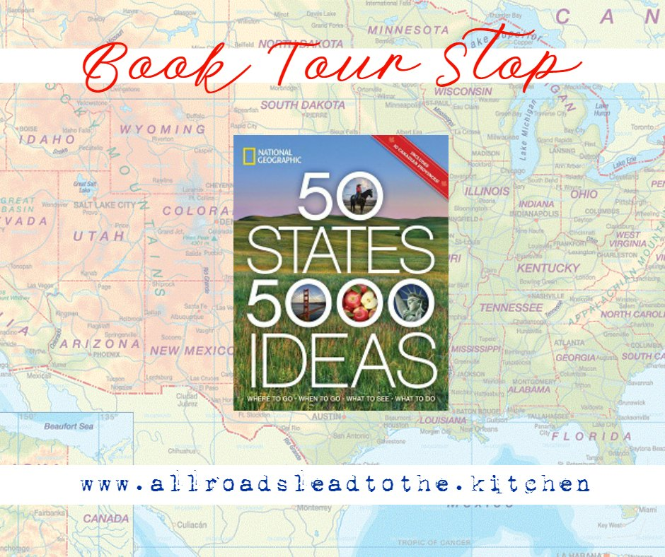 50 States 5000 Ideas Book Tour Stop | #TLCBookTours #50States5000Ideas