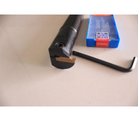 New Mgmn + Holder Mgehr | Stang Bubut | Pahat Potong | Insert Cutting