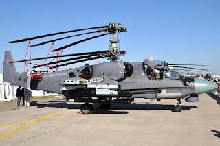 Helikopter Serang Ka-52K Katran