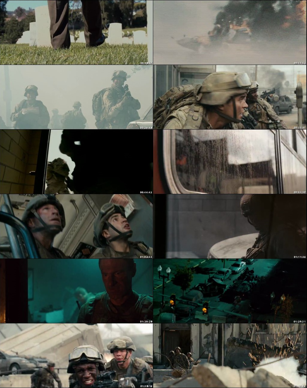 Battle Los Angeles 2011 Full Movie Download 720p BluRay ESub [Hindi-English]