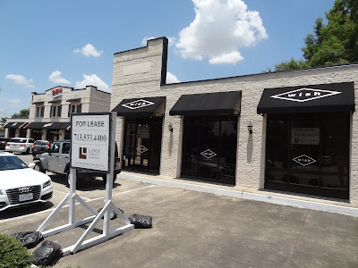 1614 Westheimer Rd, Houston, TX 77006 Space for Lease sign