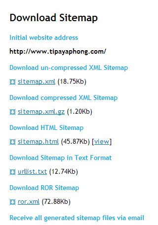 google webmaster tool xml sitemap seo ispying foryou