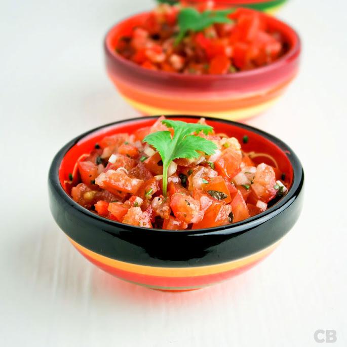 Recept Mexicaanse tomatensalsa