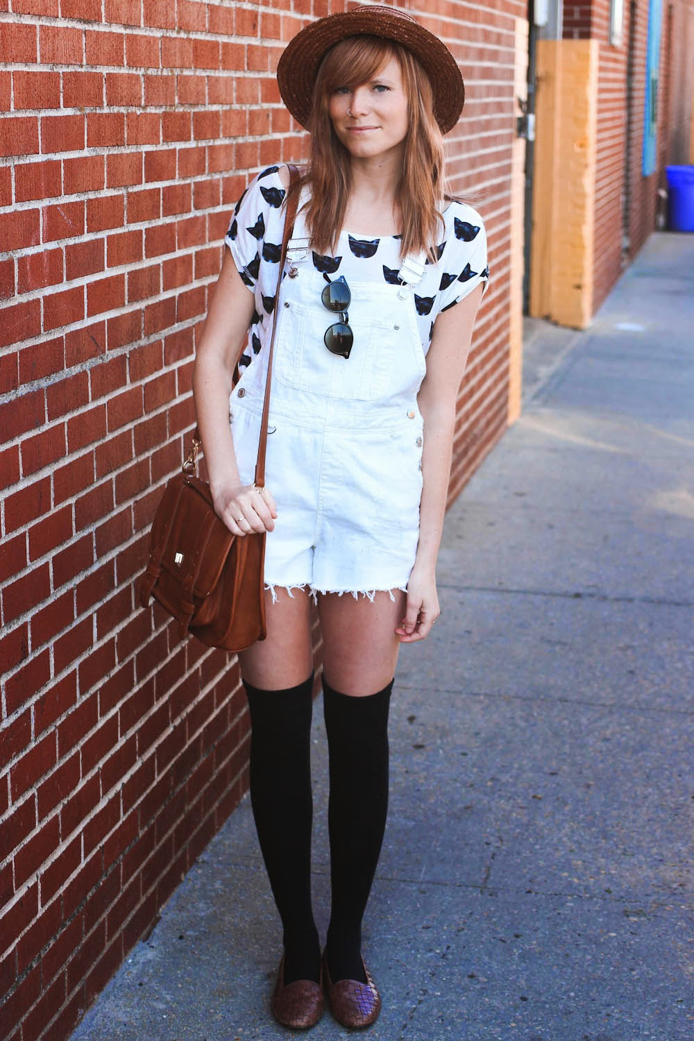 nyc fashion bloggers, nyc fashion blog, ASOS overalls, vintage fashion blog