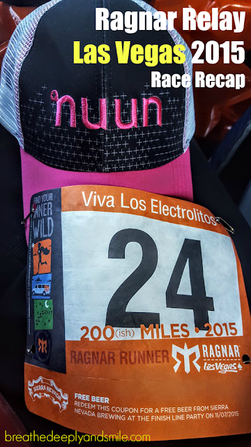 Ragnar Relay Las Vegas 2015 Recap with Nuun Hydration