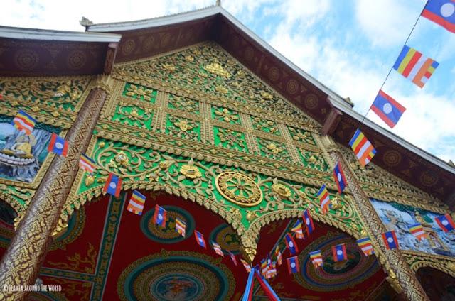 wat in paeng vientiane laos
