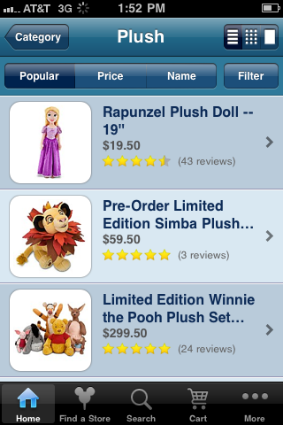 Review: New Disney Store App - WDW News Today