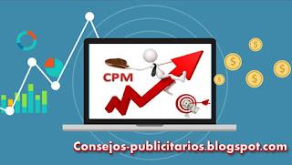 CPM, publicidad web pago por impresión