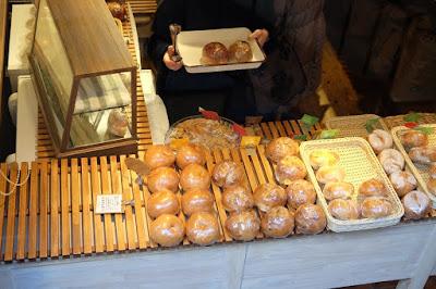 東京・代々木八幡のベーグル屋 tecona bagel works 店内の様子