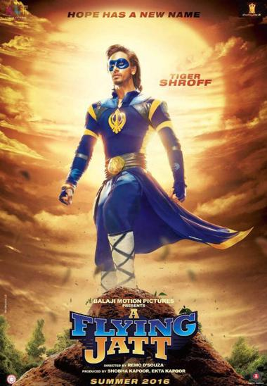 A Flying Jatt (2016) Movie Poster