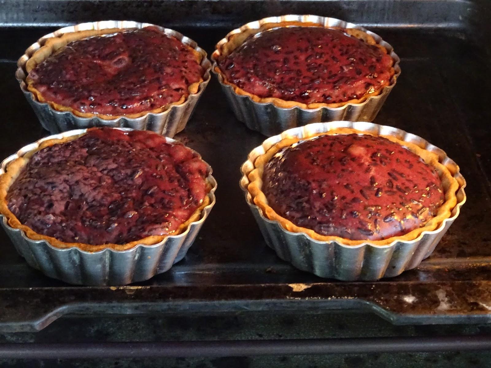 Blending Flavours: Black Rice Pudding Tartlets