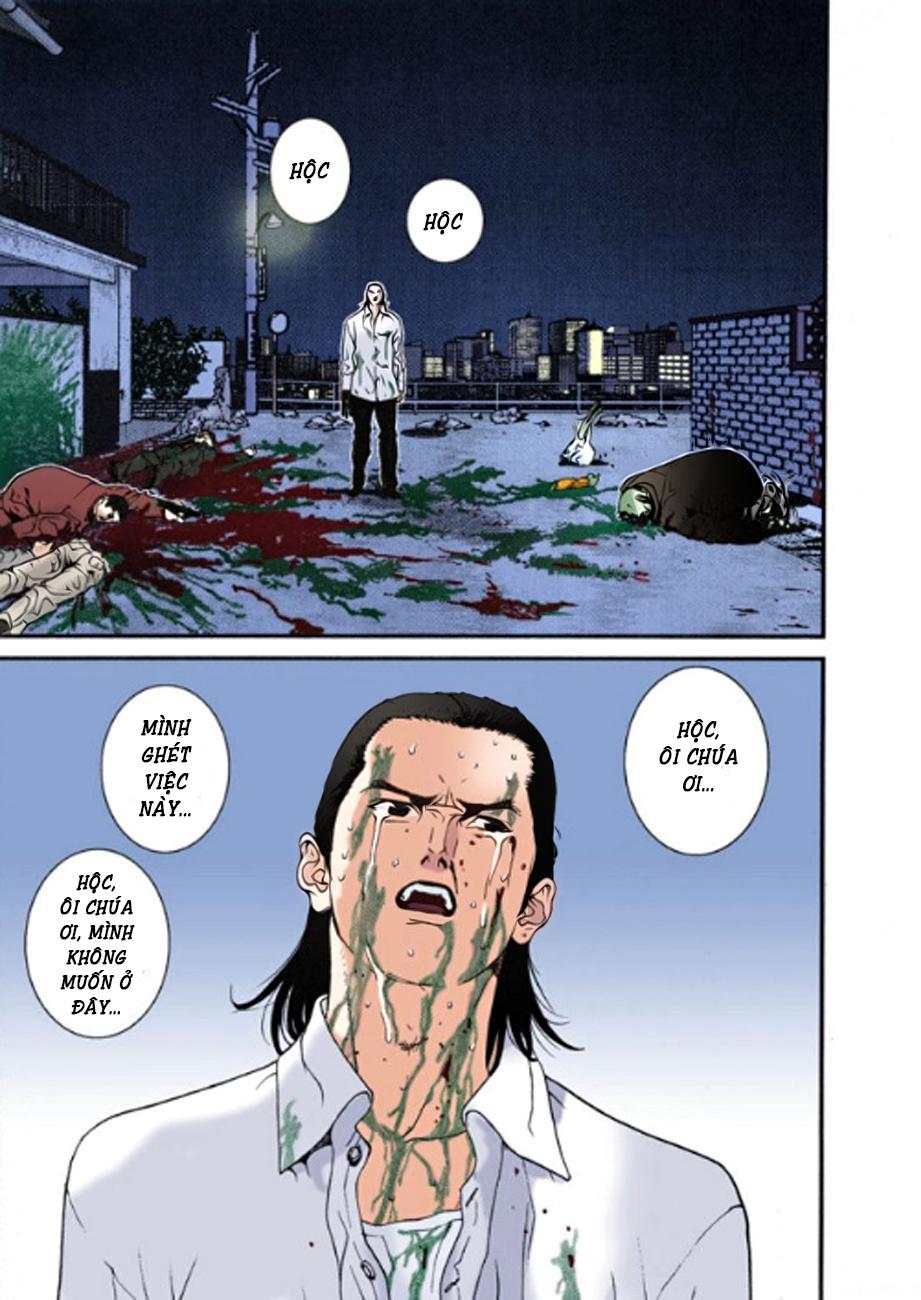 Gantz Chap 11: Tất cả đều chết trang 19