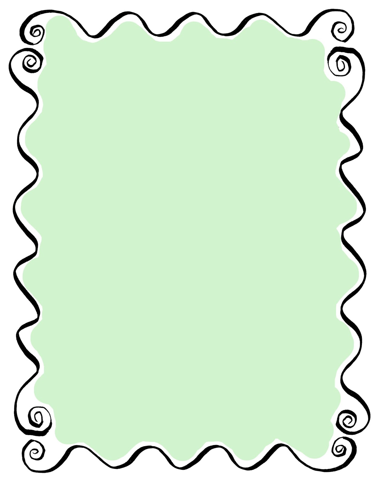 The Graphics Monarch: Printable Hand Drawn Frames Tags Decorative ...