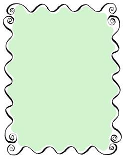 decorative frame border hand drawn sketch drawing image printable