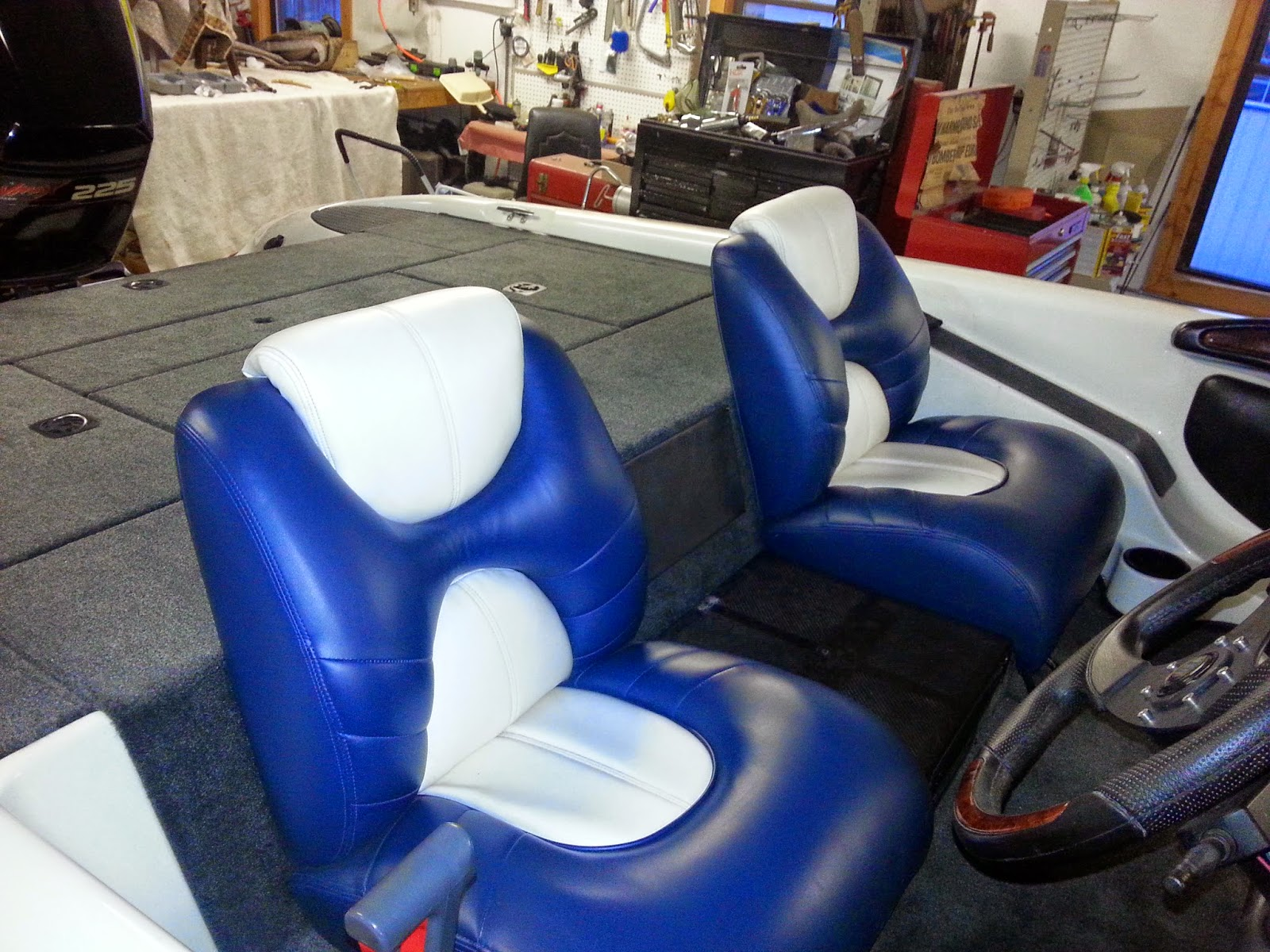 Homestyle Custom Upholstery and Awning: Boat Carpet, Seats
