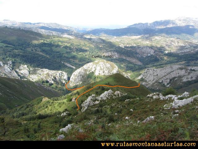 Ruta al Cabezo Llerosos desde La Molina