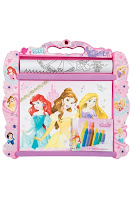 Disney Princess Rolling Art Desk
