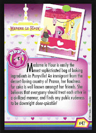 My Little Pony Madame le Flour Series 2 Trading Card