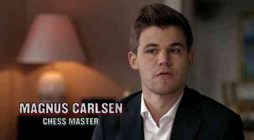 Magnus Carlsen fait la promotion du film Queen of Katwe