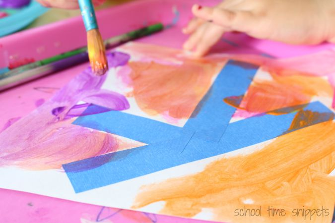 K is for Kite Preschool Craft
