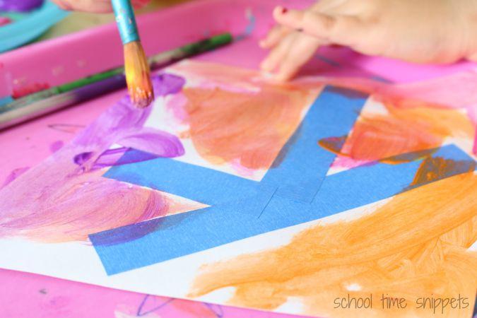 K is for Kite Preschool Craft
