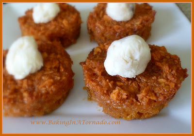 Sweet Potato Cups with Maple Butter | www.BakingInATornado.com
