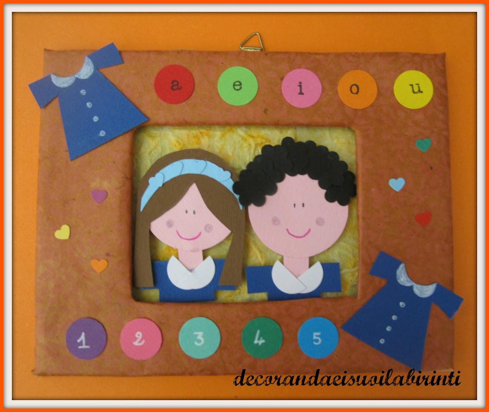 Decorandaeisuoilabirinti accoglienza for Lavoretti accoglienza infanzia