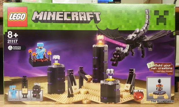 The Brick Castle Lego Minecraft Set 21117 The Ender Dragon Review