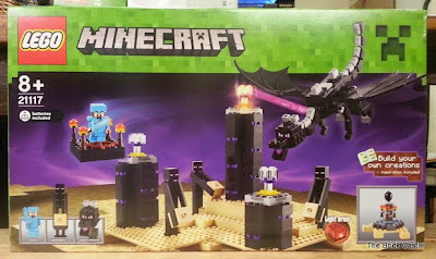 LEGO Minecraft set 21117 - The Ender Dragon review