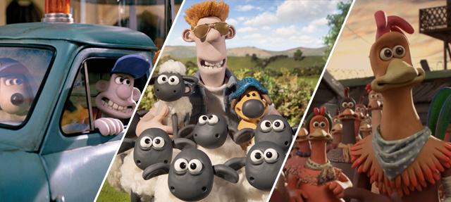 Οι Παιδικές Ταινίες Κινουμένων Σχεδίων της Aardman Animations