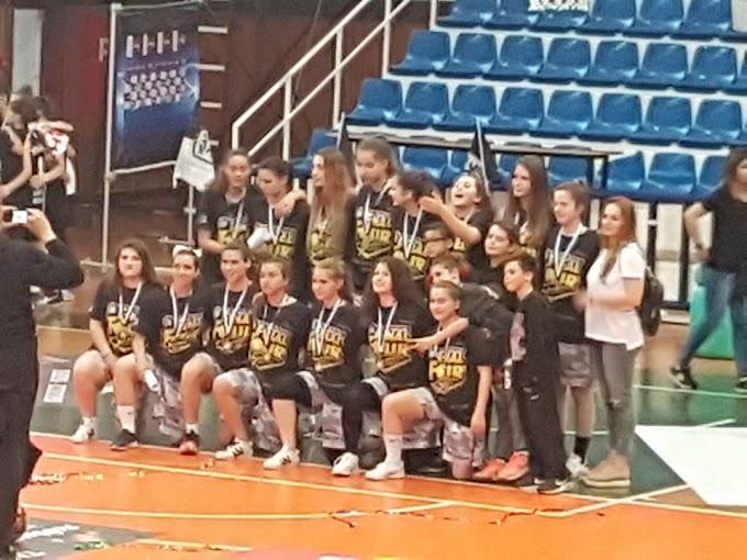 Τρίτη θέση στη Θεσσαλονίκη για τις κορασίδες του Αστέρα Ιπποδρομίου-Μαντουλίδη