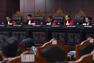 MK Menolak Sengketa Pilkada Aceh & 9 Perkara Lainnya