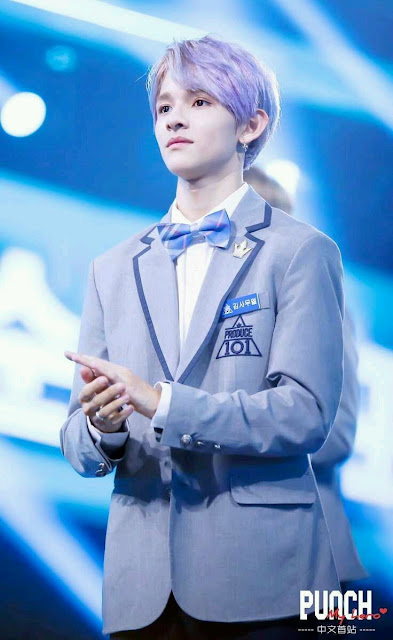 Kim Samuel at Produce 101 Season 2