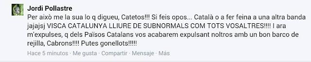 Balears, Jordi Pollastre, fascista catalanista