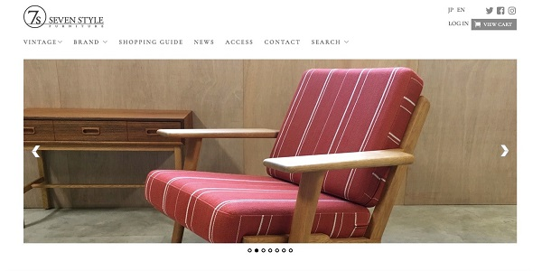 SEVEN STYLE website