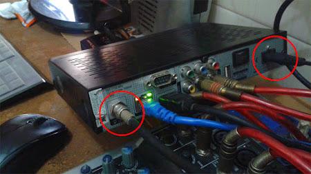 cara mengganti receiver tanpa ganti parabola