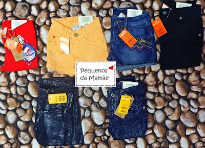 shorts jeans marisol para revenda