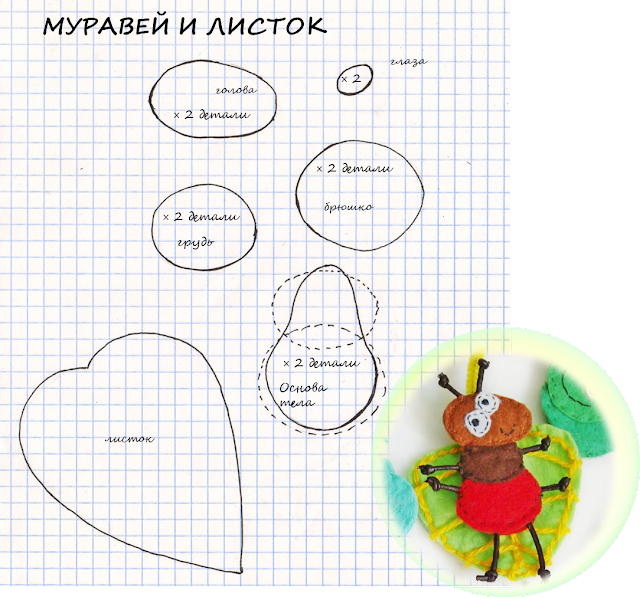 vykrojka-pal'chikovoj-igrushki-muravej